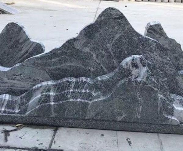 幻彩麻浪淘沙石材